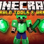 Мод Emerald Tools and Armor