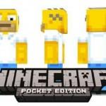 Симпсоны – новые скины для Minecraft PE версии 0.9.5 и 0.10.0