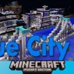 Синий город  v3.0 карта для Майнкрафт ПЕ