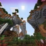 Новый Сид для Minecraft PЕ  на две деревни