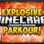Взрывчатый паркур – карта для Майнкрафт ПЕ