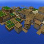 Сид на двойную деревню на островах — не оригинальный сид