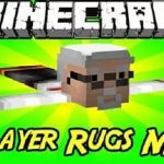 Player Rugs Мод — ковры со скинами